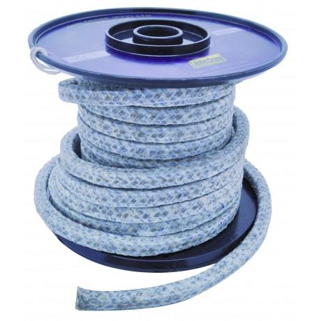 Tresse en fibre de Ramie avec imprégnation PTFE - Au mètre