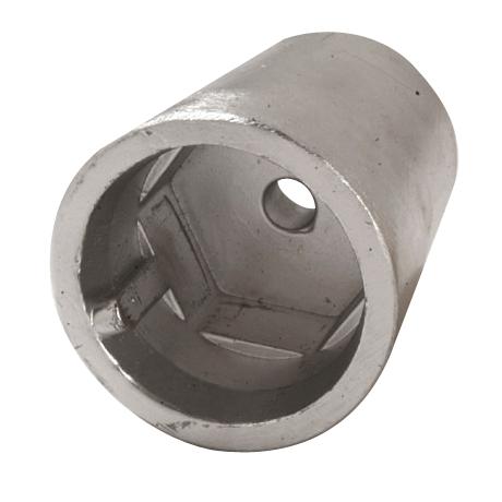 Anode pour kit écrou anodique à empreinte hexagonale